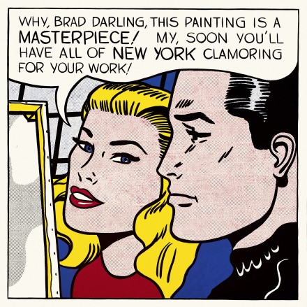 Roy Lichtenstein, Masterpiece (1962), via the Tate Modern