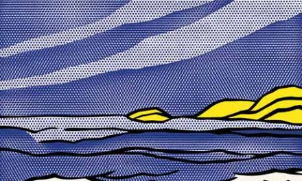 Roy Lichtenstein, Sea Shore (1964), via The Guardian