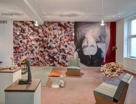 Sarah Lucas, Sitation Classic Pervery (Installation View), via Sadie Coles