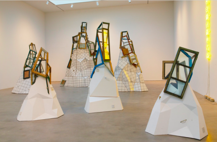 Song Dong, Doing Nothing Mountains (2011-2012), via PACE Gallery