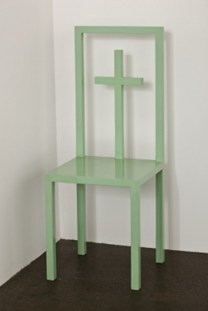 White Cube, Elad Lassry, Untitled (Green Chair) (2011)