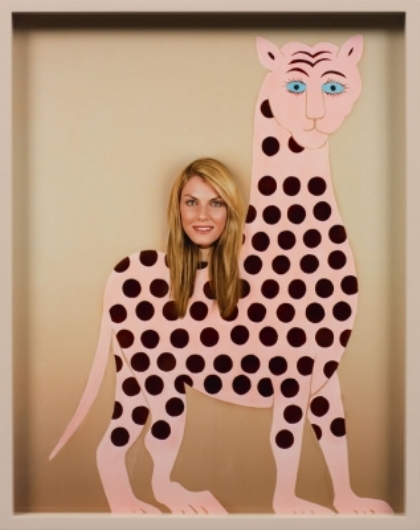 White Cube, Elad Lassry, Woman (Gryphon) (2012)