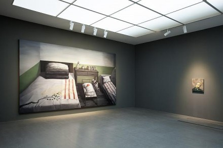 Zhang Xiaogang, Beijing Voice (Installation View), Courtesy of PACE Beijing