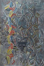 Jasper Johns, Tantric Detail I, via MoMA