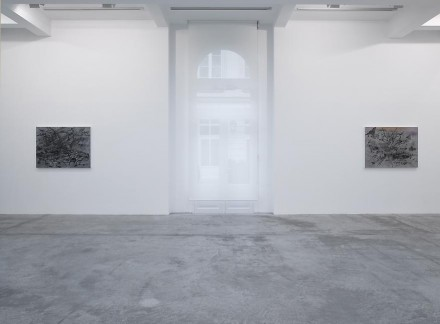 Julie Mehretu, Mind Breath and Beat Drawings (Installation View), via Marian Goodman
