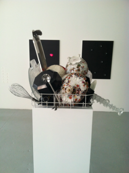 A sculpture by Nicole Wemers for Herald St London, via Daniel Creahan for Art Observed