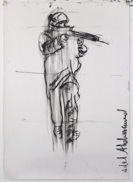 Adel Abdemessed, Soldaten (2013), via David Zwirner