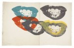 Andy Warhol, I Love Your Kiss Forever Forever, via The Independent