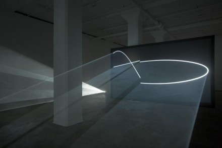 Anthony McCall, Face to Face (2013), via Sean Kelly Gallery