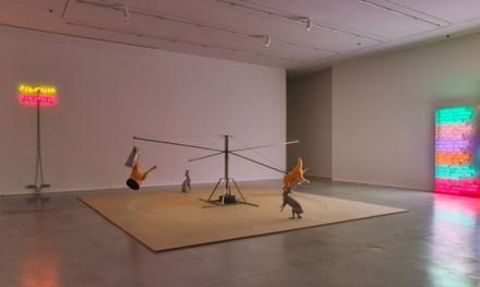 Bruce Nauman, Carousel (1988), via Hauser and Wirth