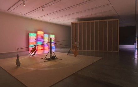 Bruce Nauman, mindfuck (Installation View), via Hauser and Wirth