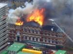 Cuming Museum on Fire, via Art Newspaper