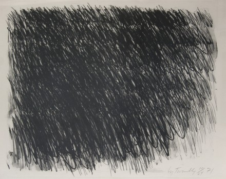 Cy Twombly, Untitled (1971), via Susan Sheehan