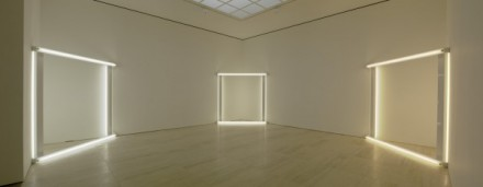 Dan Flavin (Installation View) via David Zwirner