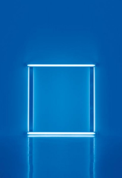 Dan Flavin untitled (to Karin and Walther) (1966-1971), via David Zwirner