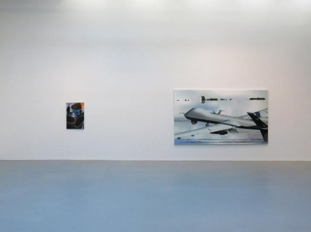 Dirk Skreber, pain(t)ology and other trials (Installation View), via Petzel Gallery