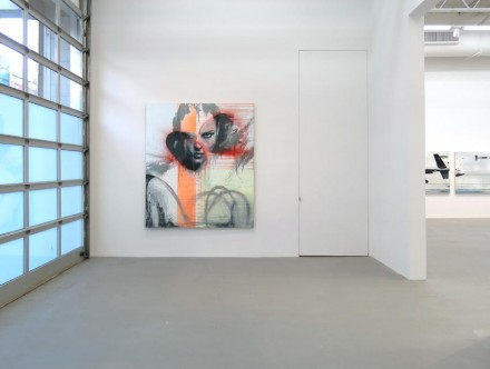 Dirk Skreber pain(t)ology and other trials (Installation View), via Petzel Gallery