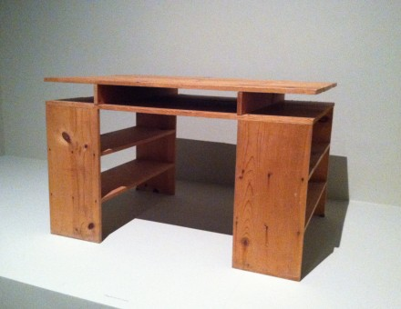 Donald Judd, Prototype Desk (1978), courtesy of LACMA