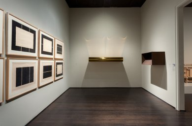 Donald Judd at LACMA (Installation View), courtesy of LACMA