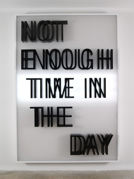 Doug Aitken, NOT ENOUGH TIME IN THE DAY (2013), Courtesy of 303 Gallery