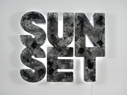 Doug Aitken Sunset (black) (2013), Courtesy of 303 Gallery