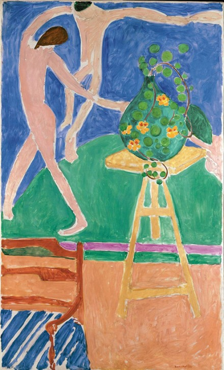"Henri Matisse, Nasturtiums with the Painting ""Dance"" I (1912), via The Metropolitan Museum of Art"