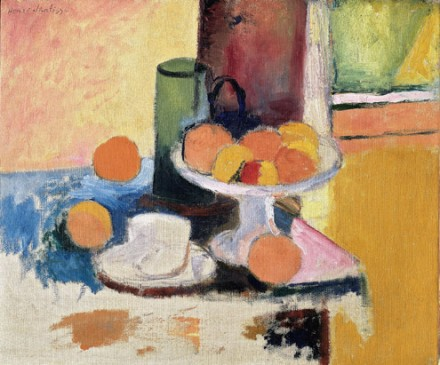 Henri Matisse, Still Life with Compote and Fruit, (1899) via The Metropolitan Museum of Art