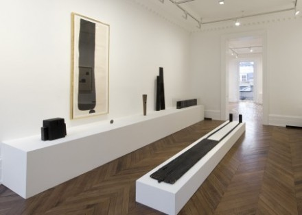 James Lee Byars, Early Works and The Angel (Installation View), via Michael Werner Gallery, London