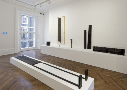 James Lee Byars-installation view-Early Works and The Angel-Michael Werner London