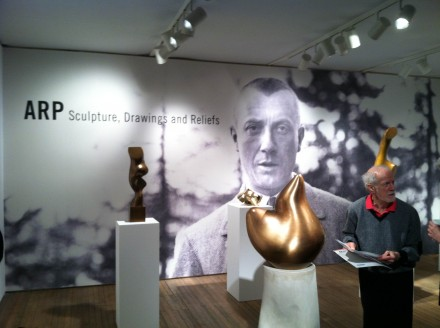 Jean Arp (Installation View) at Mitchell-Innes & Nash