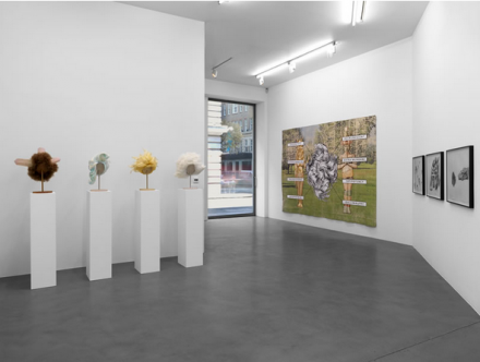 Jim Shaw (Installation View), via Simon Lee