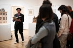 Kenneth Goldsmith reads at MoMA, via The Wall Street Journal