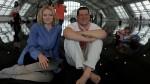 Lily Cole With Antony Gormley, via Sky Arts