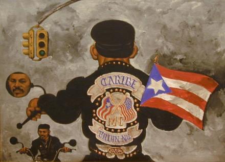 Martin Wong, El Caribe (1988), Courtesy PPOW