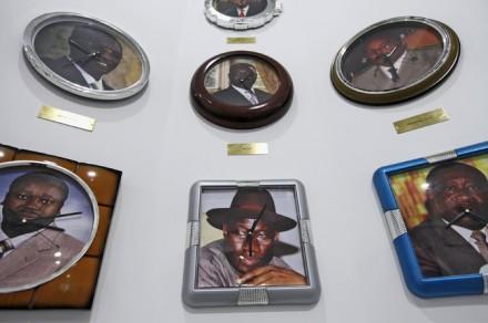 Meshac Gaba's Clocks, Via NY Times