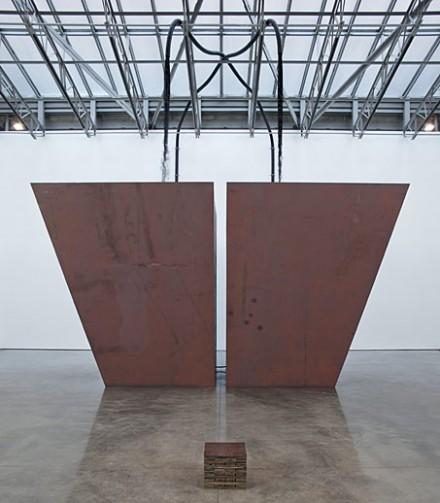 Miroslaw Balka, The Order of Things (2013), via Gladstone Gallery