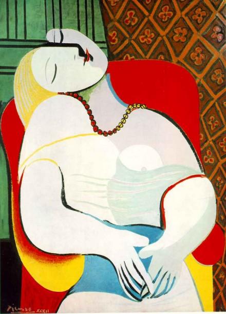 Pablo Picasso, Le Rêve (1932)