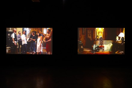 Ragnar Kjartansson, The Visitors (Installation View) via Luhring Augustine, New York