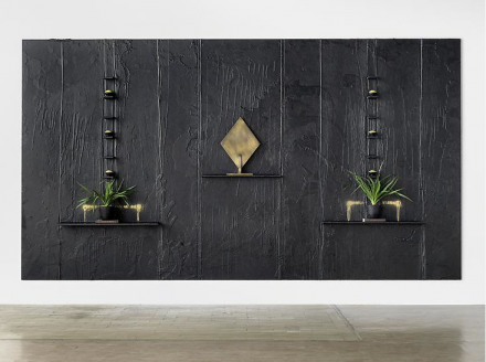 Rashid Johnson, Our People, Kind Of (2010), Courtesy the artists and Vito Schnabel