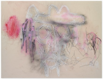 Rita Ackermann, Without a Body (2010), Courtesy Hauser & Wirth Gallery, New York