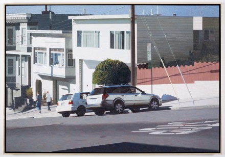 Robert Bechtle, Potrero Golf Legacy (2012), Courtesy of Gladstone Gallery