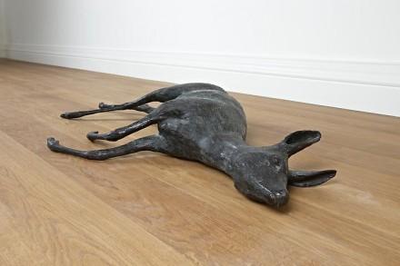 Rosemarie Trockel, Gewohnhhitstier 2 (Reh) (1990), via Skarstedt Gallery