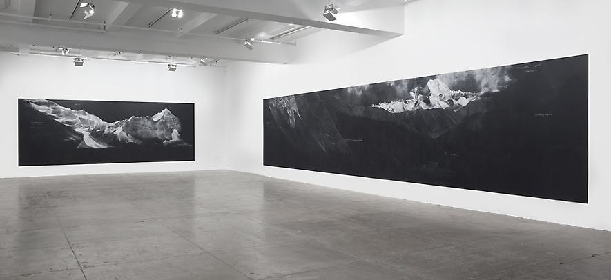 Luxury Tacita Dean Fatigues Installation view via Marian Goodman Gallery