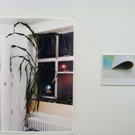 2 Works by Wolfgang Tillmans, at Maureen Paley, via Daniel Creahan for Art Observed