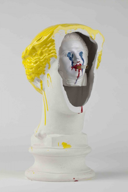 The Bruce High Quality Foundation, Self Portrait (Behind the Eyes) (2012), Courtesy the artists and Vito Schnabel