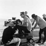 "Doug Aitken filming for his project ""Mirror"" in Seattle, via The Doug Aitken Workshop"