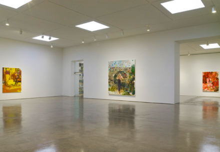 Adrian Ghenie, New Paintings (Installation view), via Pace Gallery