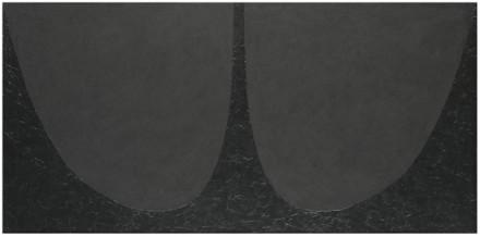 Alberto Burri, Black Cellotex (1986-87), via ArtCritical