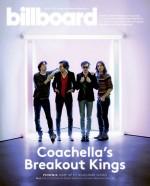 Billboard Magazine Cover Featuring Phoenix and Dan Flavin