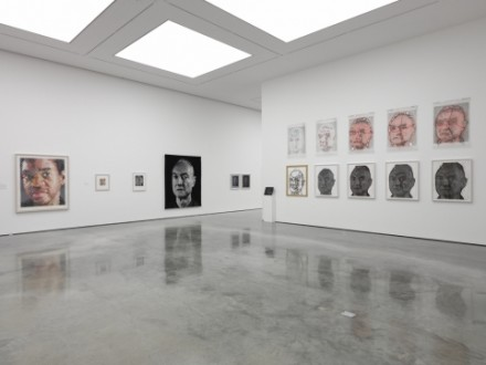 Chuck Close, Prints: Process and Collaboration (Installation View), via White Cube 2